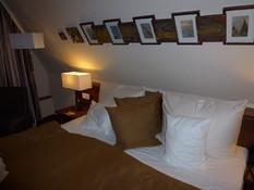 Bild: Unser Hotelzimmer im Scheelehof in Stralsund