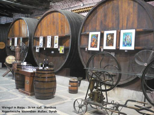 Bild: Weinfässer