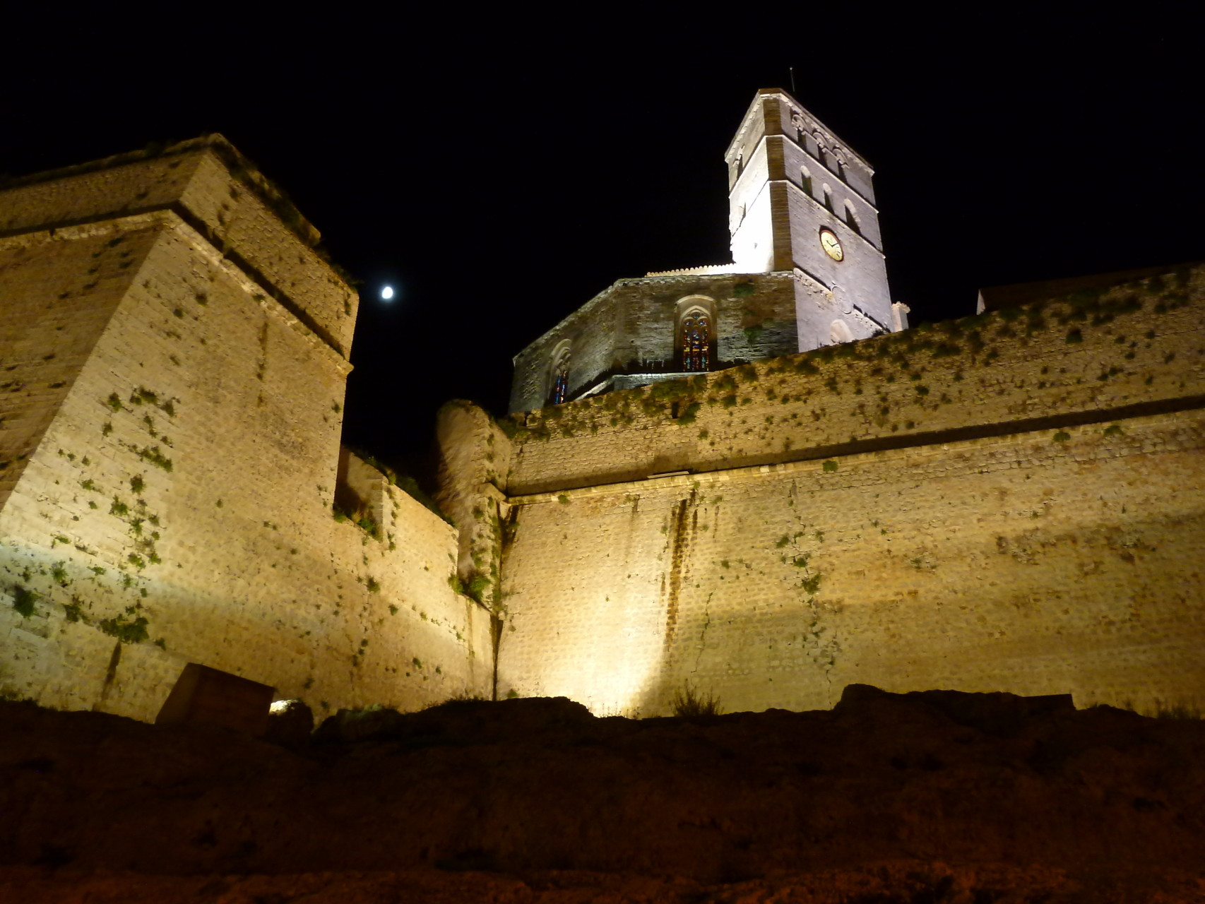 Bastion, Befestigungsmauer, Kathedralenturm