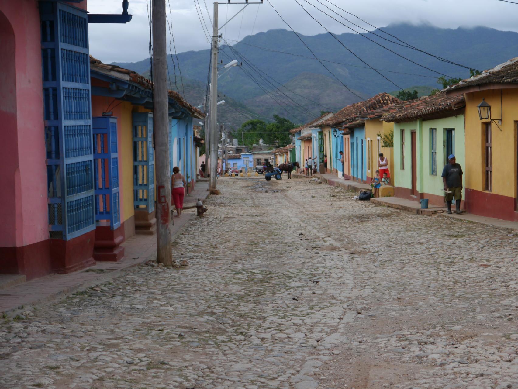 Straße in Trinidad