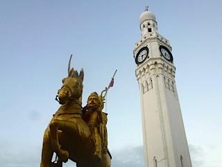Bild: Der Uhrenturm in Jaffna