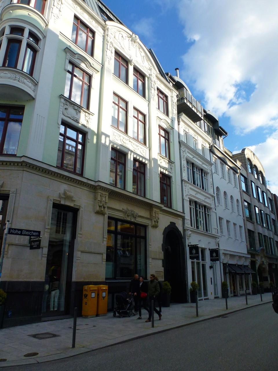 Poststraße Ecke Hohe Bleichen