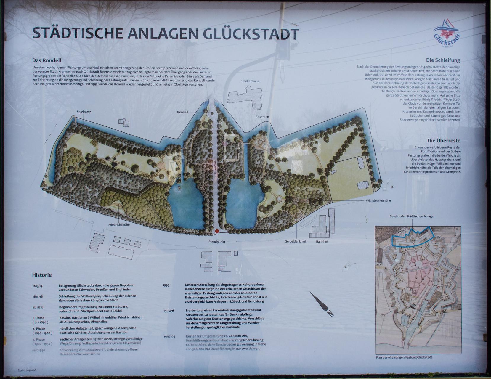 Die städtischen Anlagen