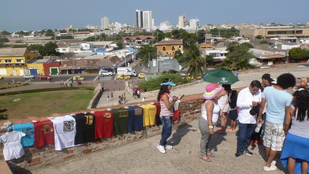Ausblick von der Festung San Felipe
