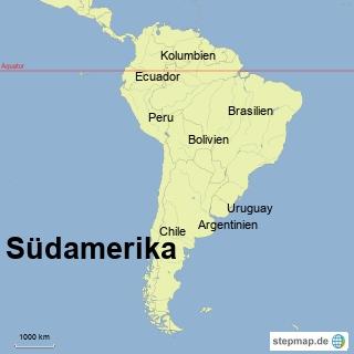 Bild: Südamerika