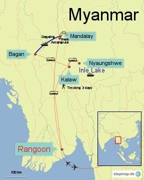 Bild: Myanmar 2 Wochen Rundreise