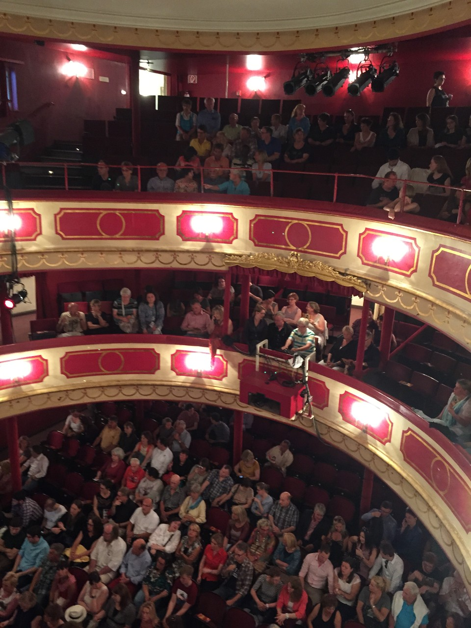 St. Pauli Theater von innen