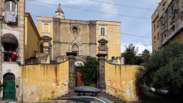 Bild: Kirche San Giovanni a Carbonara