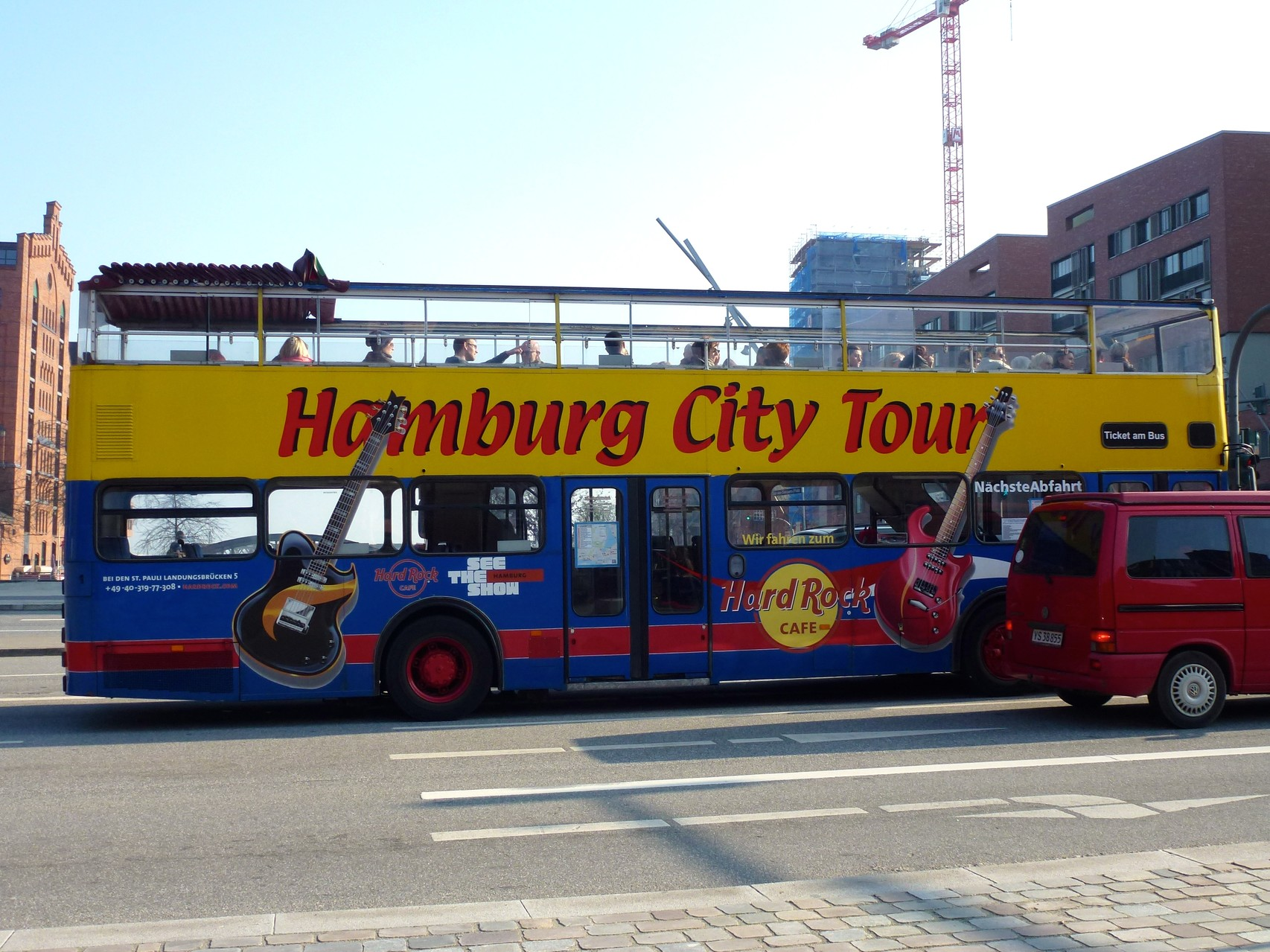 Touristenbus-Sightseeing