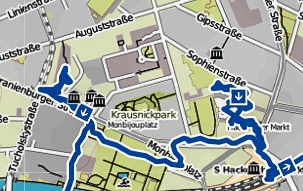 Bild: Stadtplan Berlin