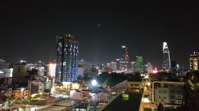 Bild: Saigon bei Nacht