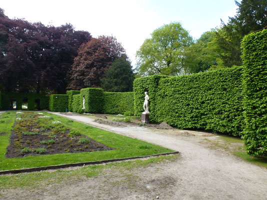 Bild: Im Rosengarten