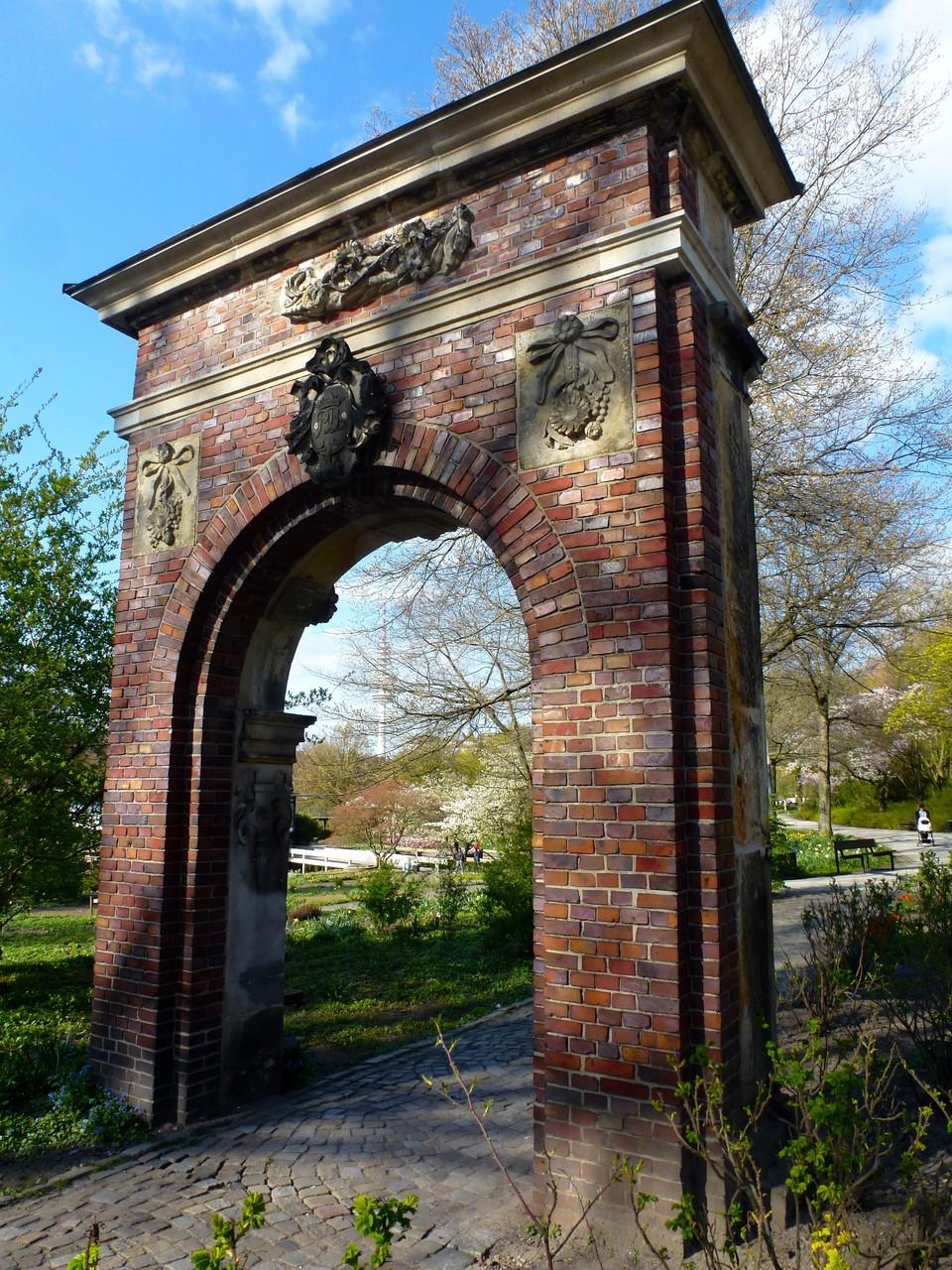 Tor in den Wallanlagen