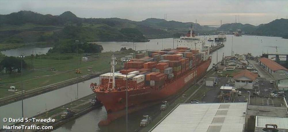 Mein Containerschiff