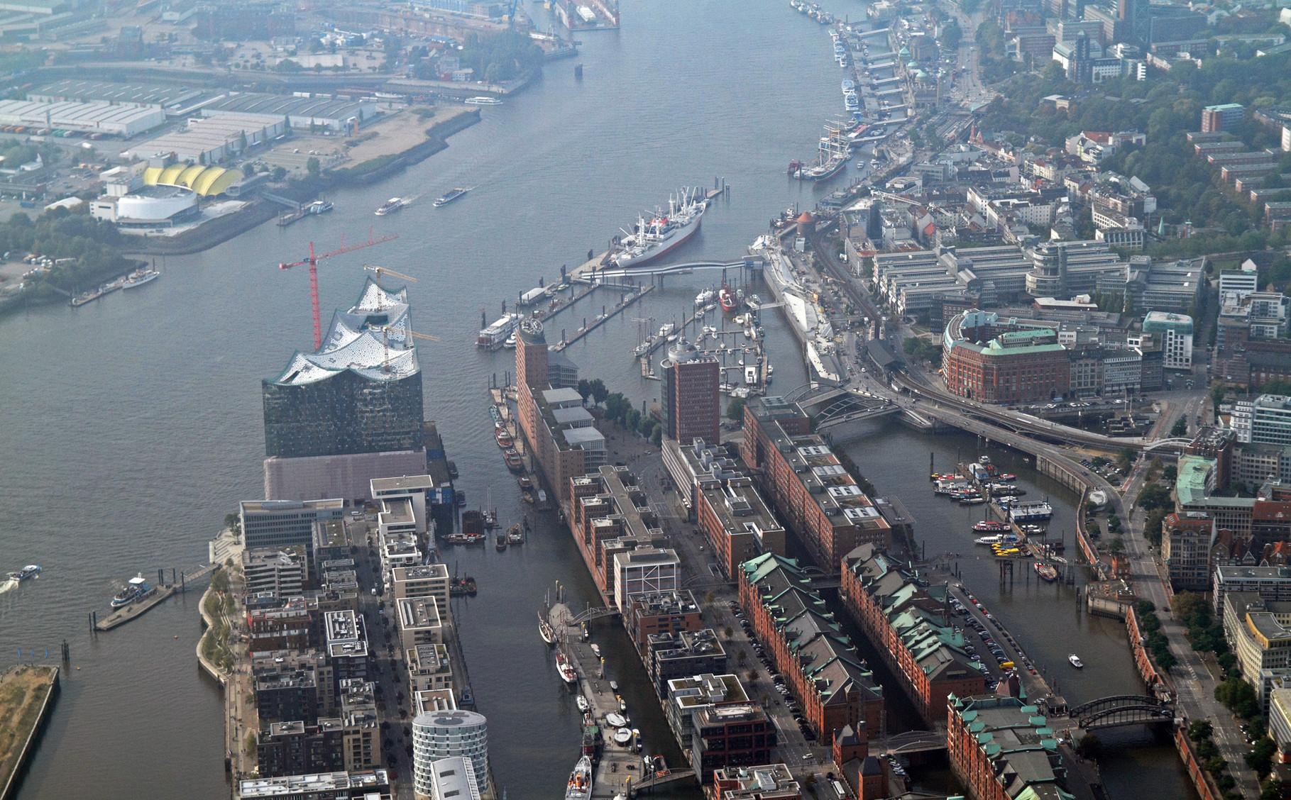 Eiphilharmonie, Landungsbrücken, Hafen
