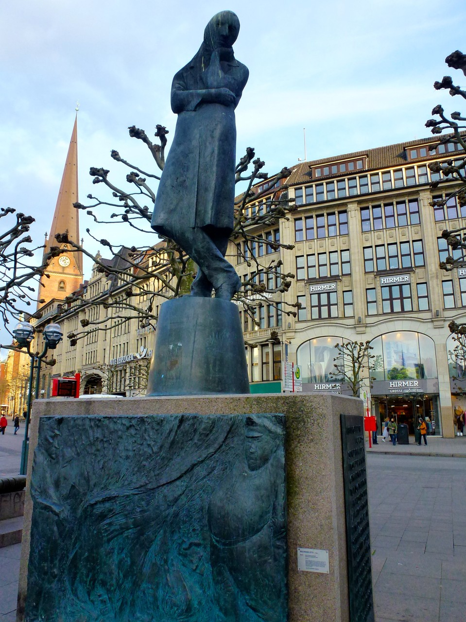 Denkmal auf dem Rathausmarkt