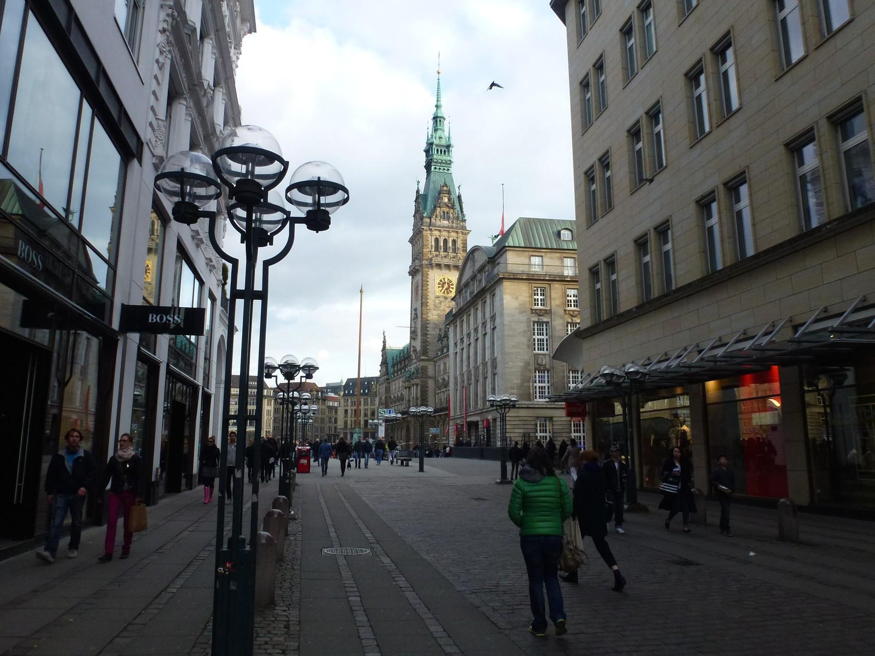 Von der Poststraße zum Rathausmarkt