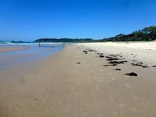 Bild: Broken Head - einsamer Strand