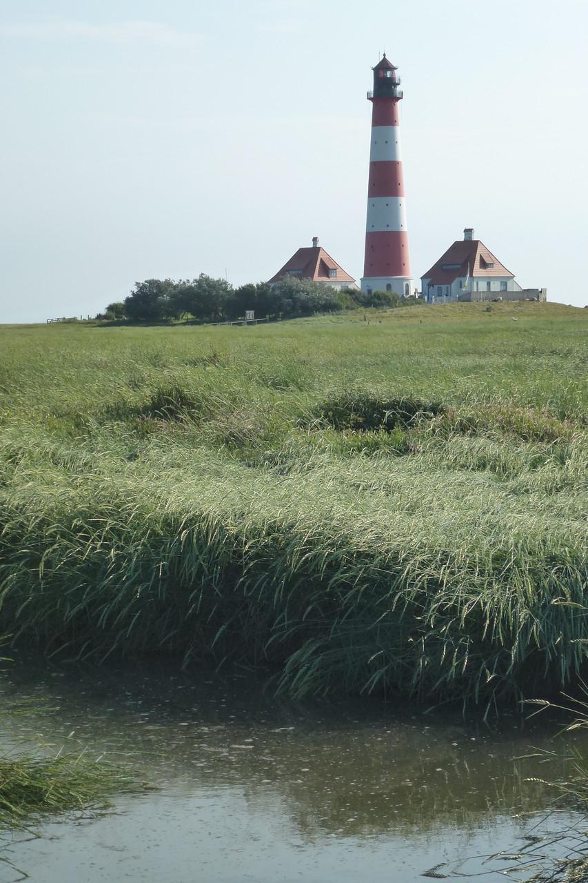 Bild: Leuchtturm von Westerhevern