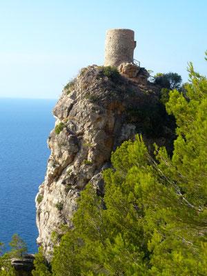Wachturm Torre des Berger bei Banyalbufar