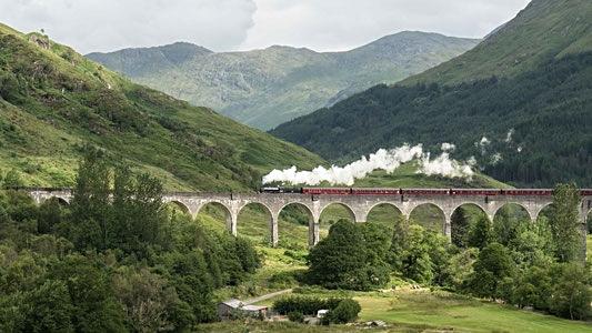 Bild: Viadukt in Glenfinnan