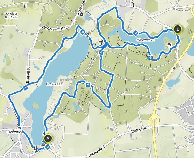 Bild: Karte Großensee