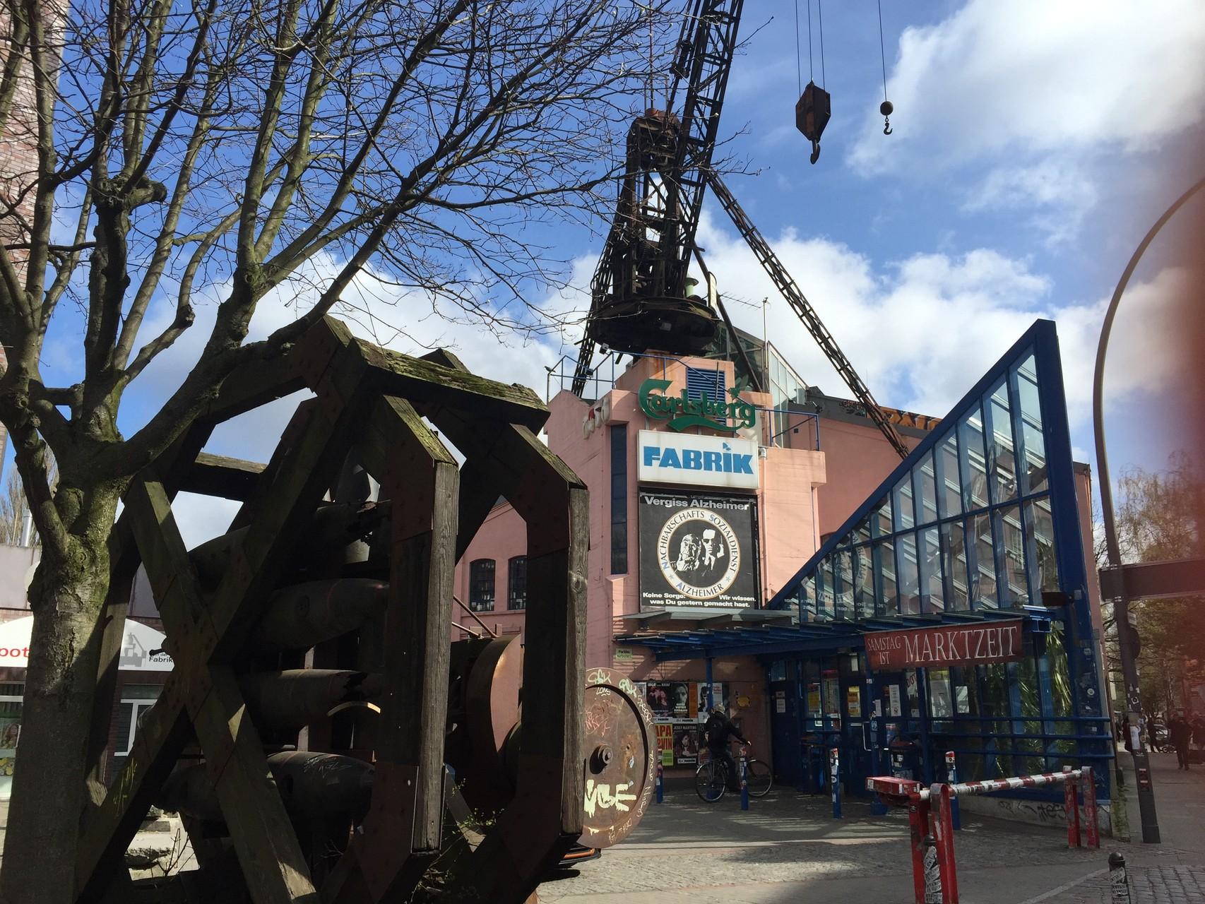 Die Fabrik in Altona  in der Barnerstraße