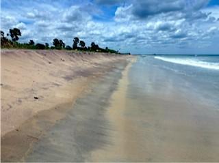Bild: Der leere Strand