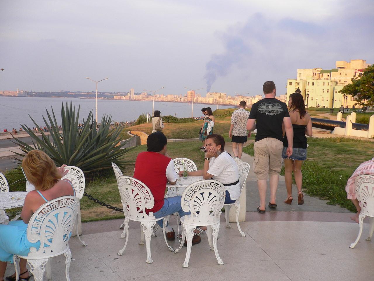 Blick vom Hotel Nacional in Havanna