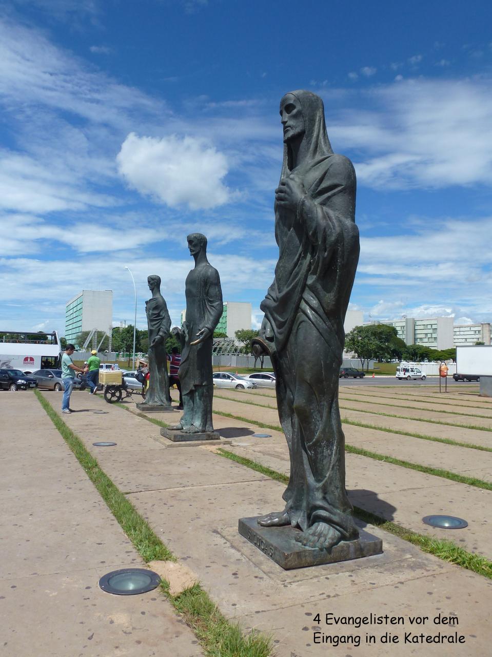 4 Evangelisten am Eingang der Catedral Metropilatana