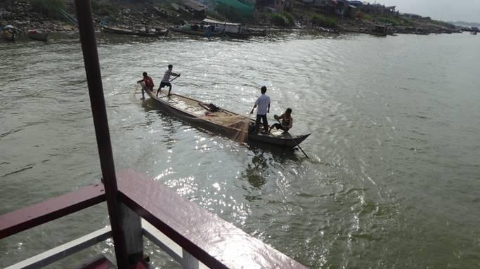 Bild: Im Mekong Delta