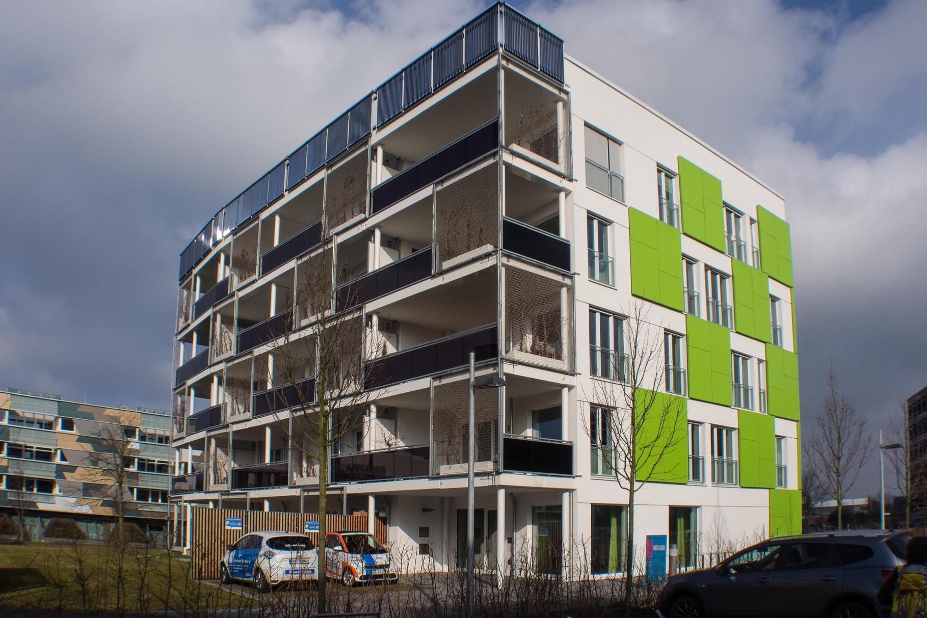 Smart Material Houses ist Grün