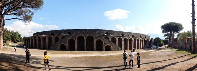 Bild: Amphitheater Pompejis