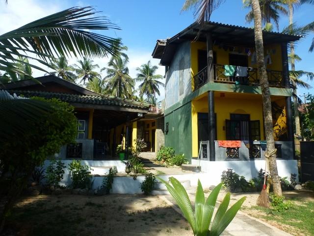 Meine Unterkunft in Mirissa