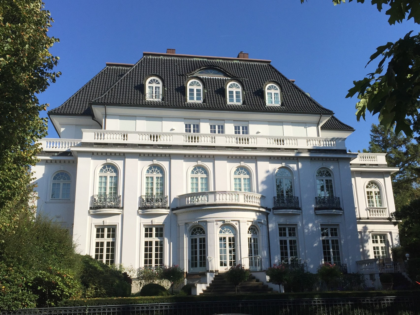 Villa an der Außenalster