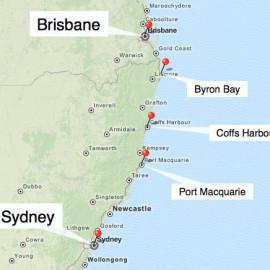Bild: Australien Ostküste