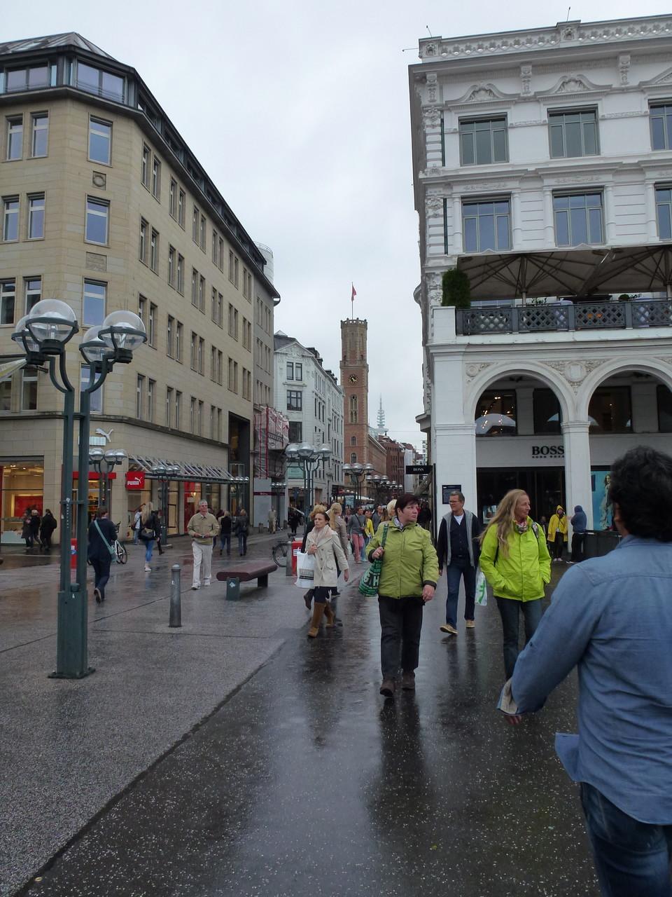 Rathausmarkt in Richtung Poststraße