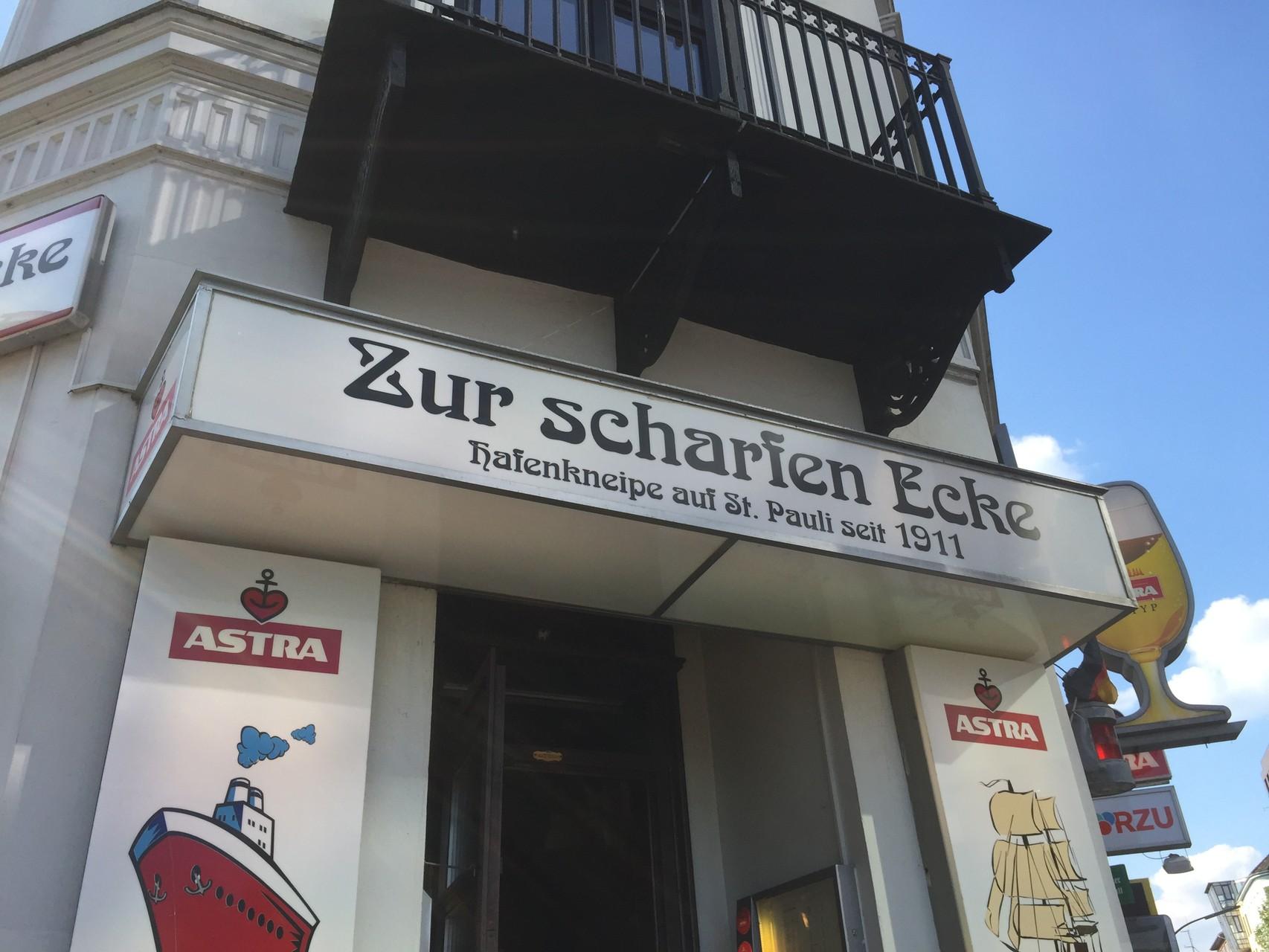 """Kneipe """"Zur scharfen Ecke"""""""
