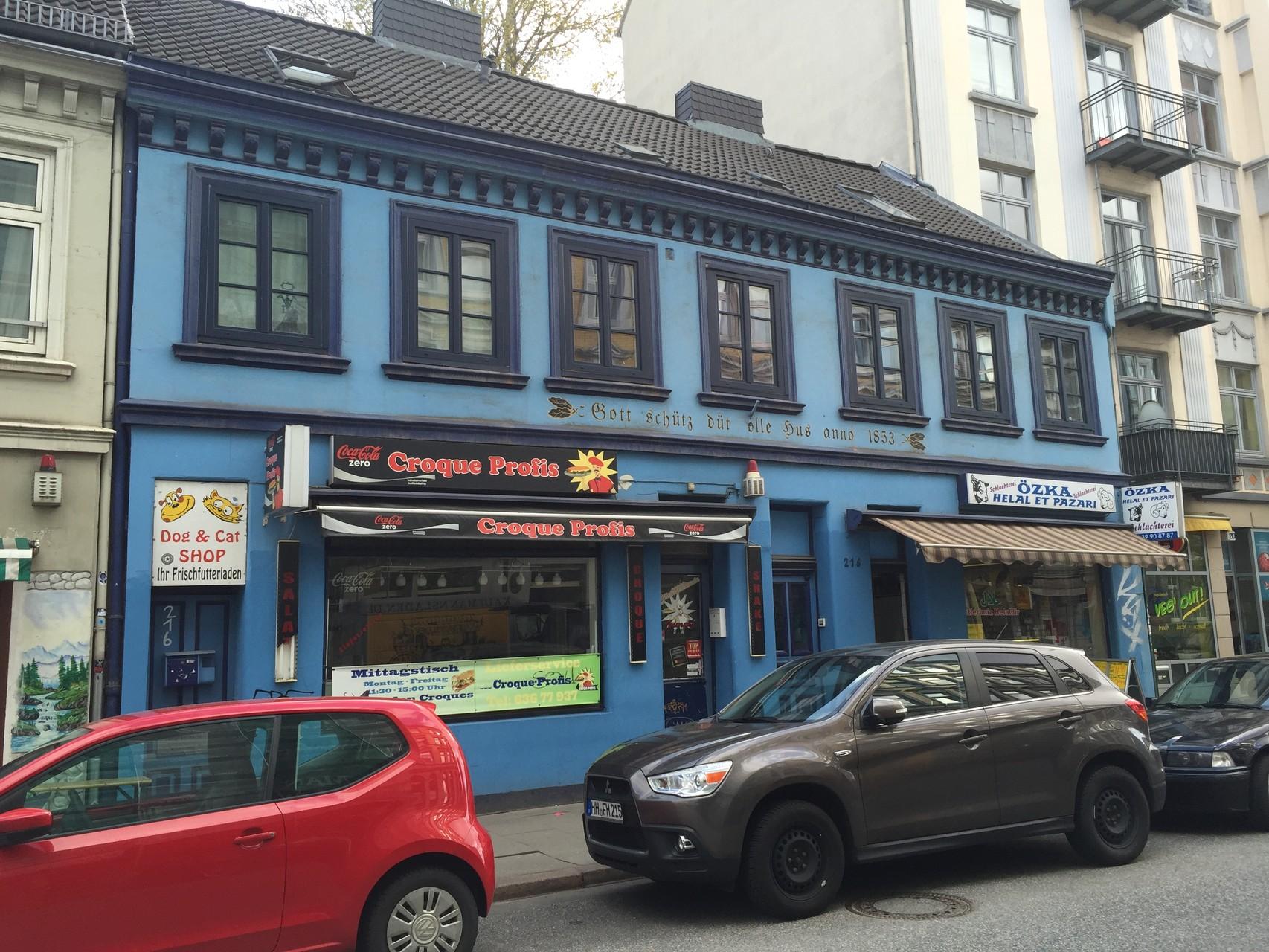 Geschäfte in der Bahrenfelder Straße