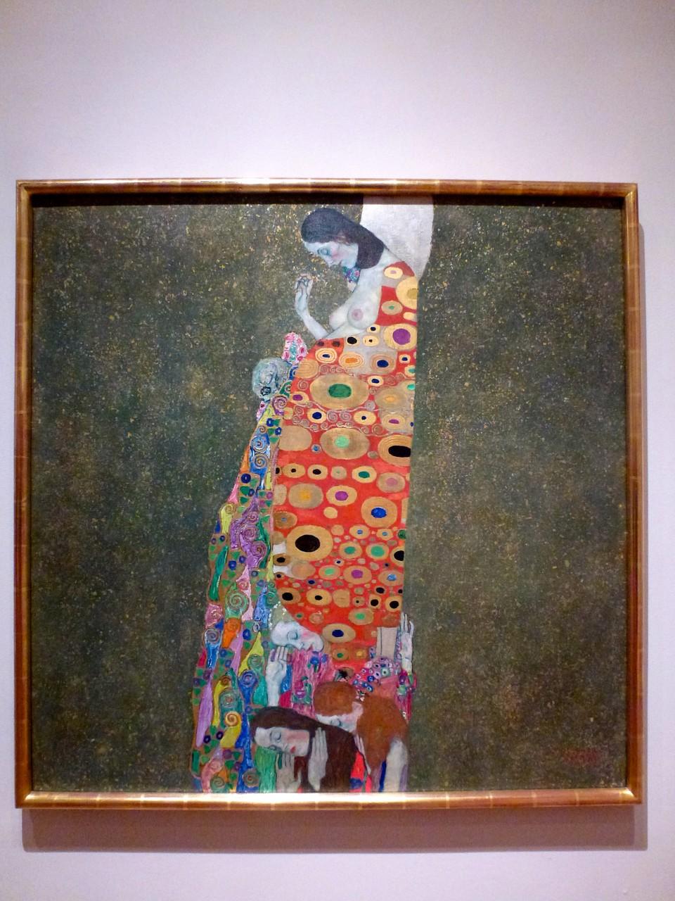 Gustav Klimt - Hope, II (1907-08)
