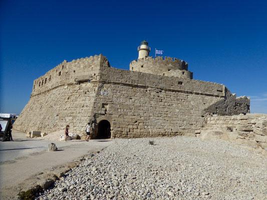 Die Festung Agios Nikolaos