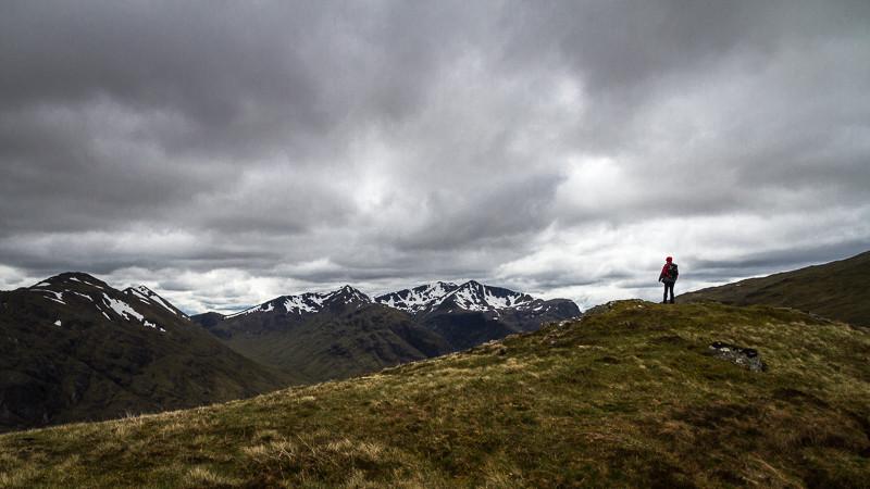 Bild: Auf dem Stob Mhic Mhartuin (Schottland, Glen Coe)