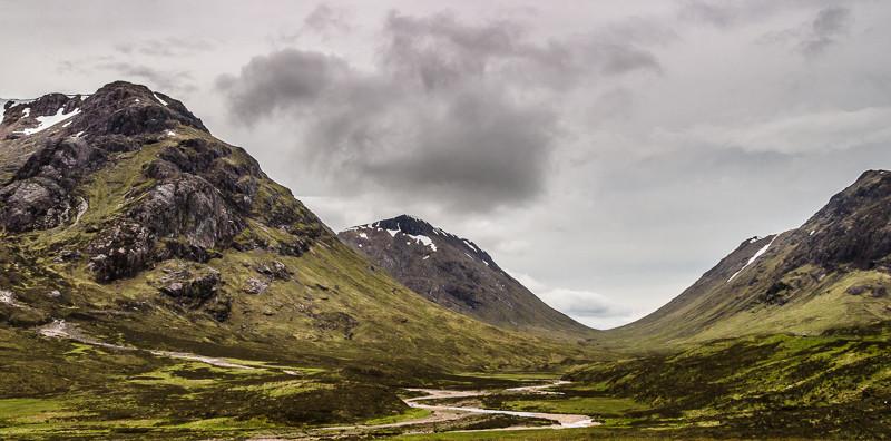 Bild: Trogtal Glen Coe (Schottland)
