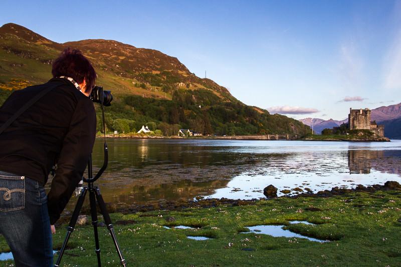 Bild: Fotografie am Eilean Donan Castle (Schottland)
