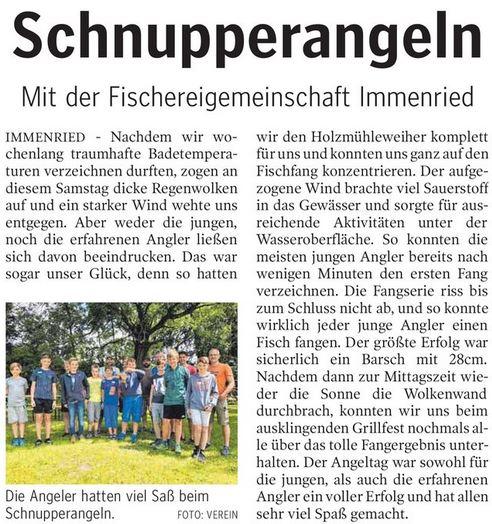 Schwäbische Zeitung vom 13.8.2018