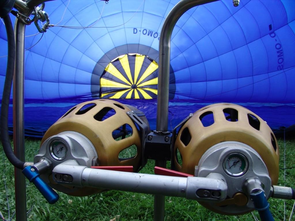 Ballontaufe des neuen Arcobräu-Ballons