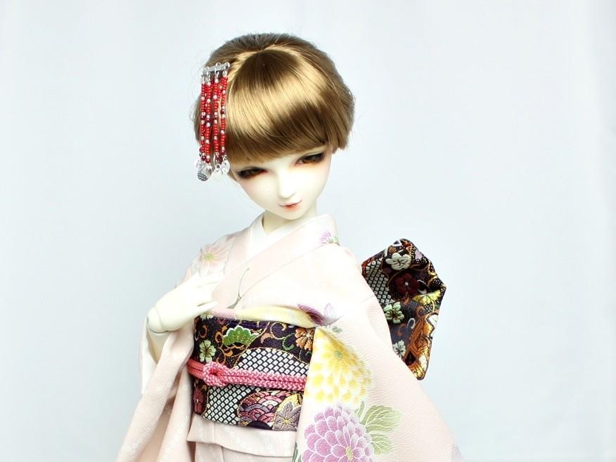 Dollfie kimono,SD 着物,ドルフィー 和装