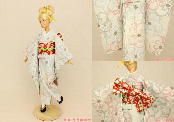 バービー 着物,ミサキ 振袖,Barbie kimono