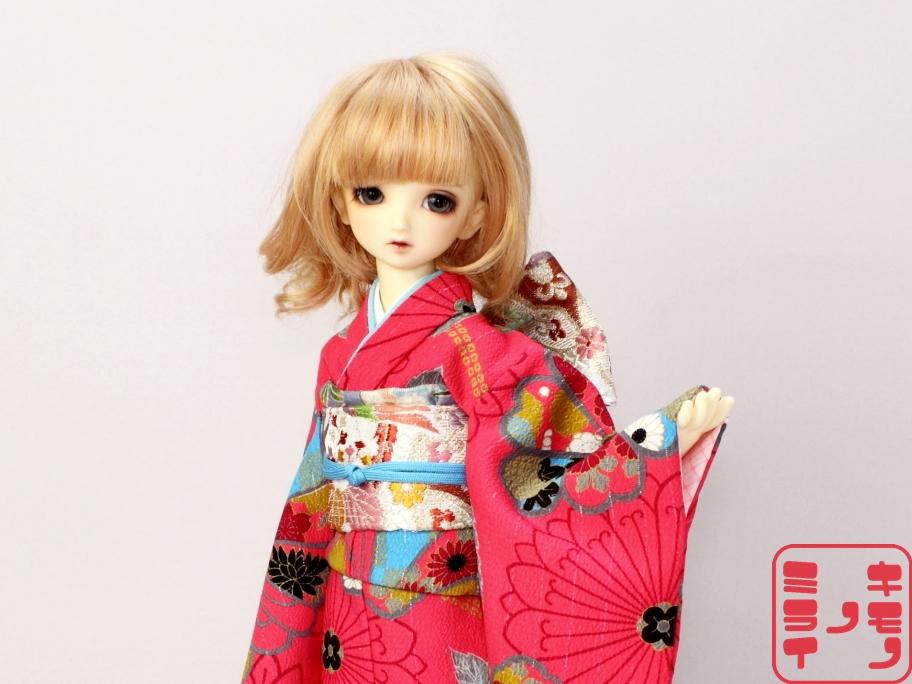 スーパードルフィー ミディ 着物,SD kimono,MSD SDM 振袖