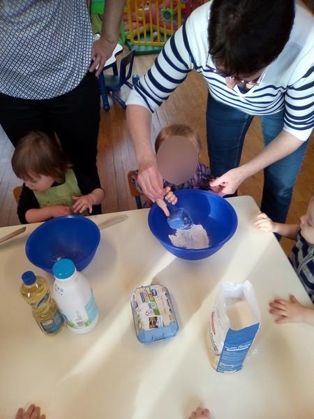 Atelier cuisine : la chandeleur